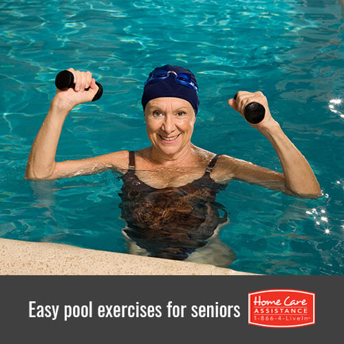 Simple Pool Exercises for Seniors in Anchorage, AK