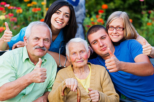 Receiving Caregiving Help From the Rest of the Familyin Anchorage, Alaska